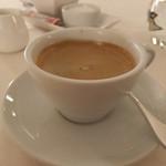 リストランテ イル バンビナッチョ - コーヒー。