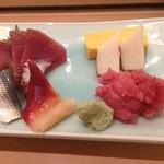 寿司長 - 刺身定食 ¥950 の刺身