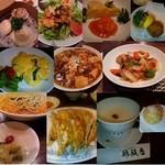 錦飯店 - 夜のコース