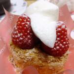 ジャンルプラン - (o>ω<o)苺のサクッとした優しい味のケーキ