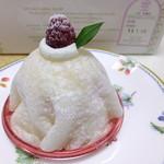 ジャンルプラン - (o>ω<o)求肥に包まれたイチゴムーススポンジケーキ