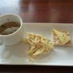 カフェ・ド・スタイル - モーニングに、前菜が付いてます