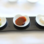 中国料理 皇苑 - ふかひれ御膳:前菜
