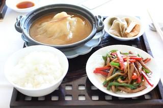 中国料理 皇苑 - ふかひれ御膳:メインの御膳