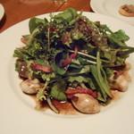 ヴィエイユ ヴィーニュ - 牡蠣ソテーのサラダ