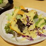 香希 - セットのサラダ