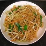 千里香 - 料理写真:四川風焼きそば