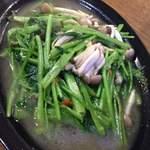 ノング インレイ - 6回目2013年2月2日 世界寄食ツアー 空芯菜