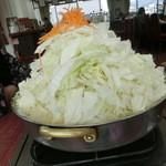17127319 - とりやさい味噌鍋(680円)