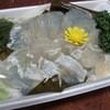 魚惣 - 料理写真:ひらめ昆布〆 ¥850-