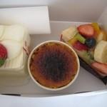 17130792 - ケーキ3種類