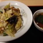 三好弥 - 中華丼 ¥800