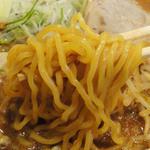 麺匠 双葉 - 特選赤味噌ラーメン(750円)中太縮れ麺