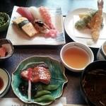 17132007 - 真砂御膳→寿司ランチ