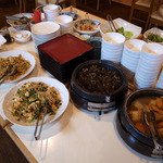 沖縄食彩 あじまあ - おなずのオンパレード@2013-01