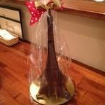 ガロ - エッフエル塔のチョコレートです。