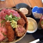 17137137 - マグロ丼650円