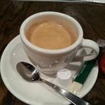 17137165 - 追加ホットコーヒー(100円)です。