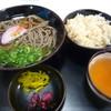 京たんば - 料理写真:鬼そばセット430円
