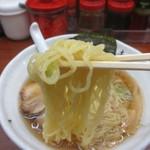 ちりめん亭 - 中華そば麺アップ