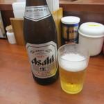 ちりめん亭 - 瓶ビールアップ