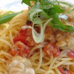 セレブ・デ・トマト - フレッシュトマトと白子のペペロンチーノ