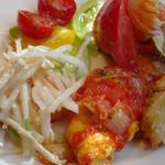 セレブ・デ・トマト - ビュッフェの前菜(つれ合い)