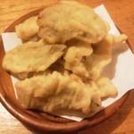 17139519 - なんとか豆の天ぷら