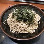 そば処 めとろ庵  - ざるそば(340円)