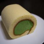 茶游堂 - 濃茶ロールケーキ