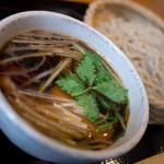 手打蕎麦 とし庵 - 鴨汁蕎麦