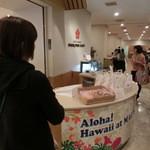 マウナケア - この奥にカフェ的なスペースがございます