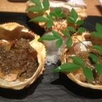 KICHIRI - 蟹味噌甲羅焼き