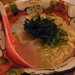 Bar MICHIya - 魚のアラでとった塩ラーメン