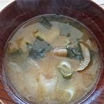 茶房 壺中天 - お味噌汁