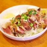 居酒屋 春海 - 料理写真:地鶏のたたき