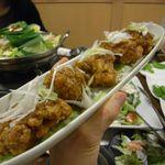 焼き鳥・もつ鍋 一揆 - 若鶏の唐揚げ