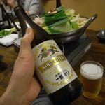 焼き鳥・もつ鍋 一揆 - ビールと博多もつ鍋