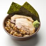 岩本屋 - チャーシューご飯