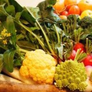 無農薬自家農園野菜をたっぷりと