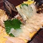 がらかぶ料理 みやじ - ガラカブ刺身