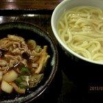 かまど - 肉つけ汁うどん!(2013,02/02)