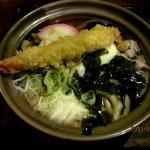 かまど - 鍋焼きうどん!(2013,02/02)