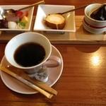 海鮮屋 八丁櫓 - レディース御膳のデザート^_^