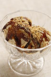 ココカラforest - 自家製お豆腐のアイスクリーム 600円