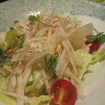 石臼挽き ふるまい蕎麦  ふる井 - 大根サラダ