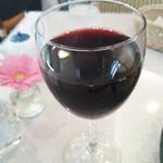 鱗亭 - グラスワイン赤