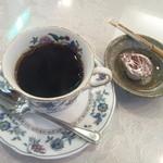 鱗亭 - コーヒー