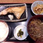 17155214 - ランチ 鮭かま焼き定食500円