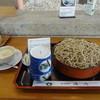 清川 - 料理写真:1日10食限定そば「十割せいろそば」850円、だったん蕎麦プリン